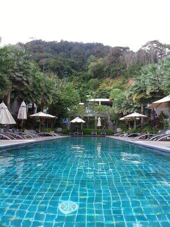 Wyndham Sea Pearl Resort Phuket: Pool just below my room