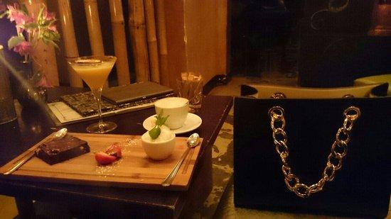 Asoka: Amazing desert after a tasty supper... #Tops