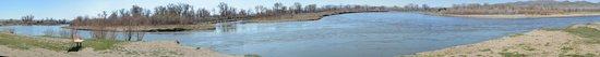 Missouri Headwaters State Park : panorama of three rivers