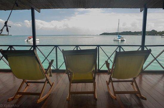 Bocas Inn: View from upper Balcony
