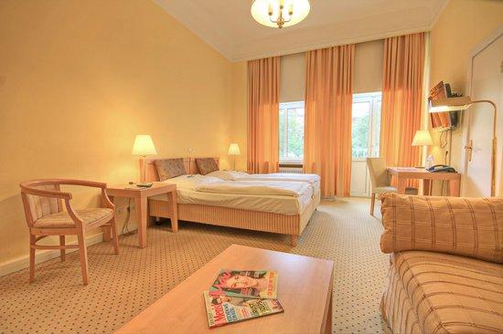 relexa hotel Bellevue: Doppelzimmer im Stammhaus