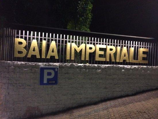 Discoteca Baia Imperiale: Ingresso