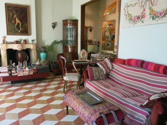 Ca' Fosca due Torri: living room