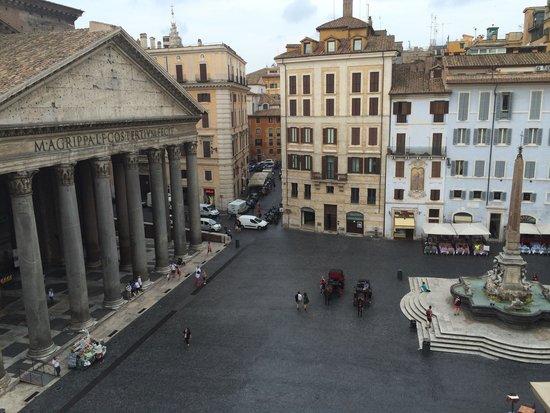 Albergo del Senato : View from our room..