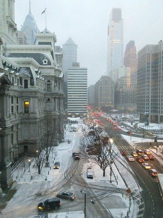 Courtyard by Marriott Philadelphia Downtown: Vista desde la ventana!