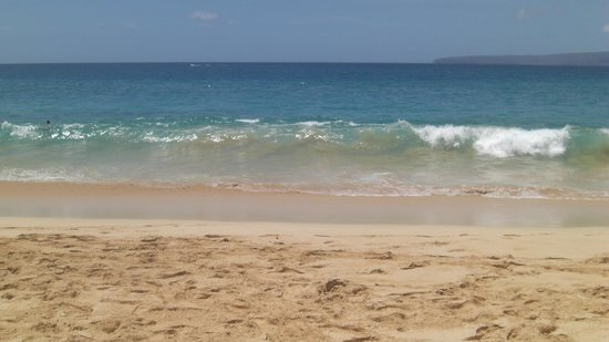 Wailea Beach : The beach
