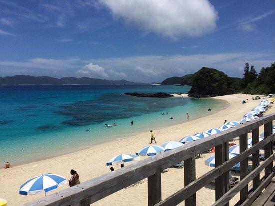 Furuzamami Beach : Beach