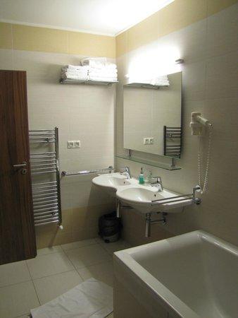 Hotel Viktor: Double lavabo