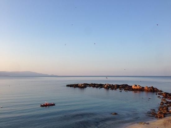 Hotel dei Pini: spiaggia al mattino presto