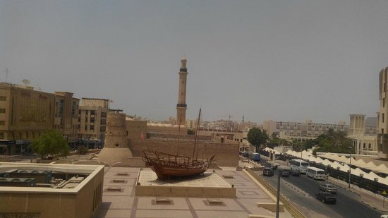 Arabian Courtyard Hotel & Spa: view from the room