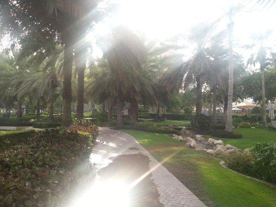 Le Meridien Mina Seyahi Beach Resort and Marina: Beach Walk