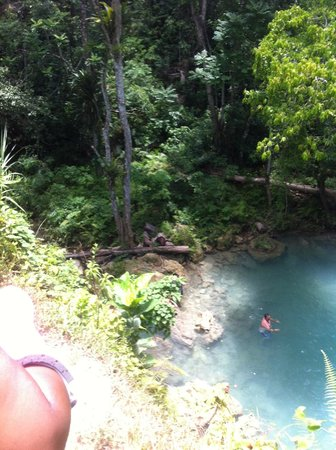 Liberty Tours Jamaica - Day Tours : Awesome view of the bottom