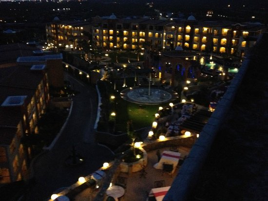 Hacienda Encantada Resort & Spa: View from Risco's (on-site restaurant)