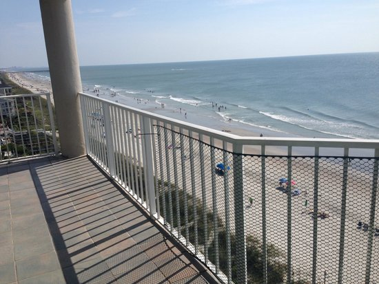 Condotels At One Ocean Place: Beautiful View And Spacious Balcony