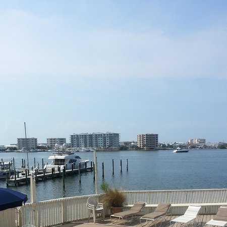 Inn on Destin Harbor: our view