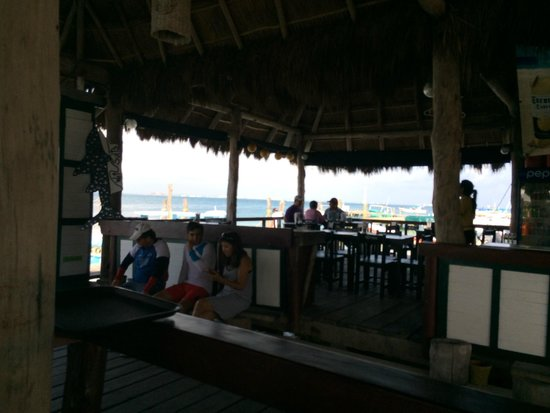 Bally Hoo Restaurant : Beautiful view
