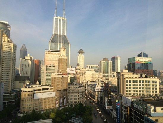 Sofitel Shanghai Hyland : Vue de la chambre (jour)