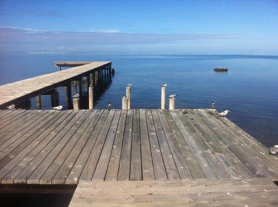 "Linareva Moorea Beach Resort: ""the Deck"""
