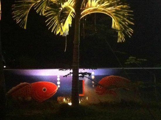 Kob Thai Restaurant: déco poisson