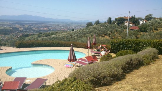 Villa di Papiano: By the pool and around it