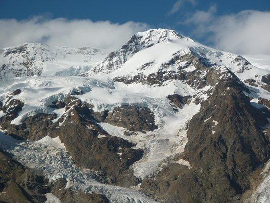 Albergo Ristoro Sitten : La vista del Monte Rosa