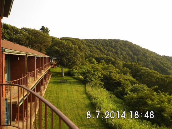 Skyland: Photo taken from balcony of room 136