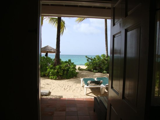 Galley Bay Resort: view from our room