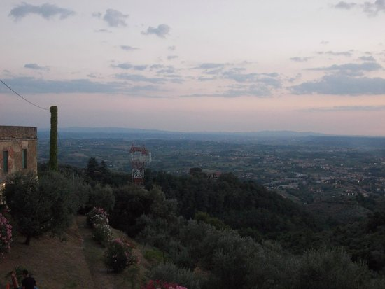 Villa di Papiano: View from the apartment