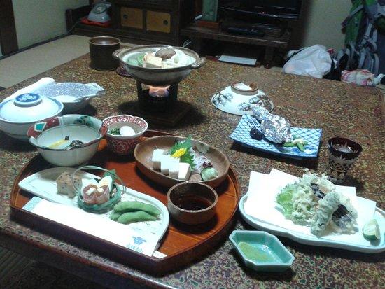Sumiyoshi Ryokan: More food....mmmm