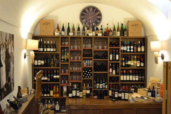 Capri Wine Hotel: The wine Bar