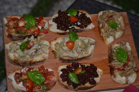 Capri Wine Hotel: Our Small Romantic Dinner