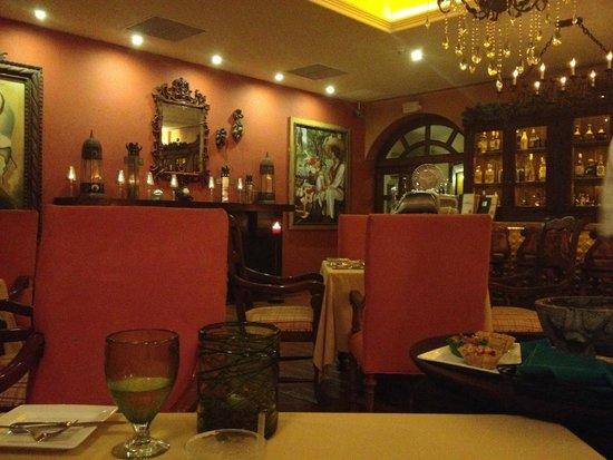 Hacienda Encantada Resort & Spa: La Tienda, Anniversary Dinner