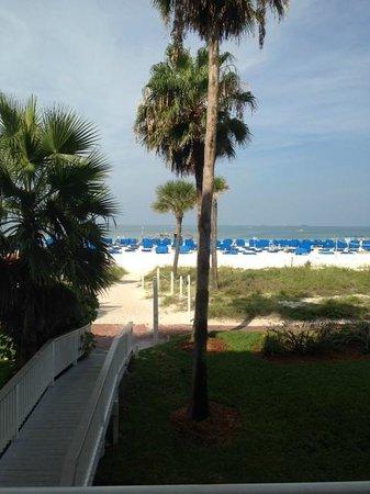 TradeWinds Island Grand Resort: View from 2nd floor oceanview balcony