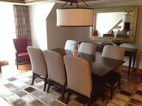 The St. Regis Aspen Resort: Dining Room