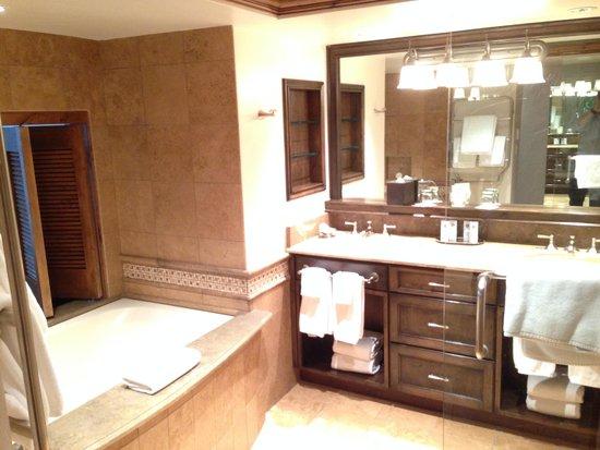 The St. Regis Aspen Resort: Master Bathroom
