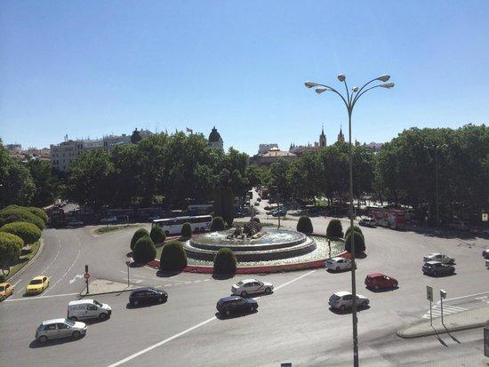 The Westin Palace Madrid: Vue depuis la chambre
