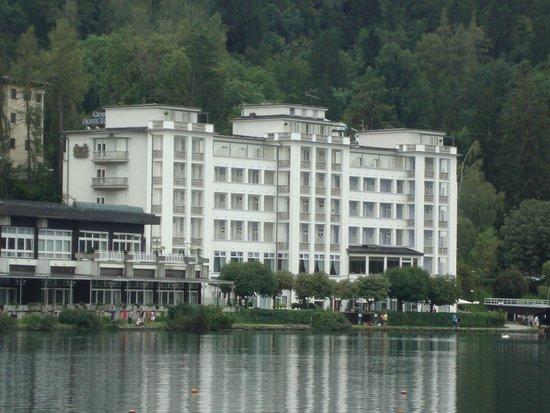 Grand Hotel Toplice: Hotel Grand Toplice, Bled