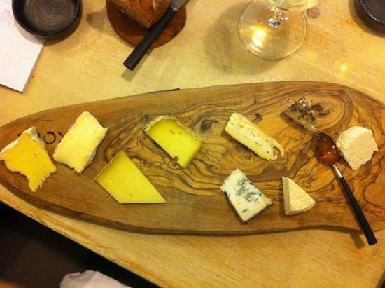 Likoke : Cheese platter