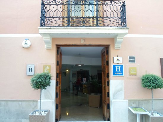 Hotel Villa de Biar: Hotel Entrance