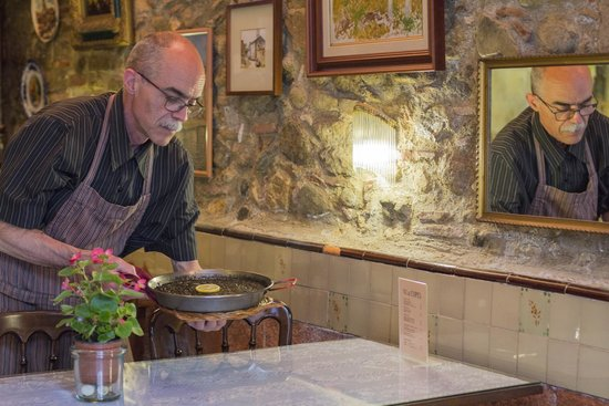 Restaurante Can Muni: arròs negre