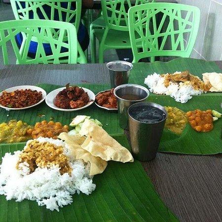 Selvam : banana leaf meal
