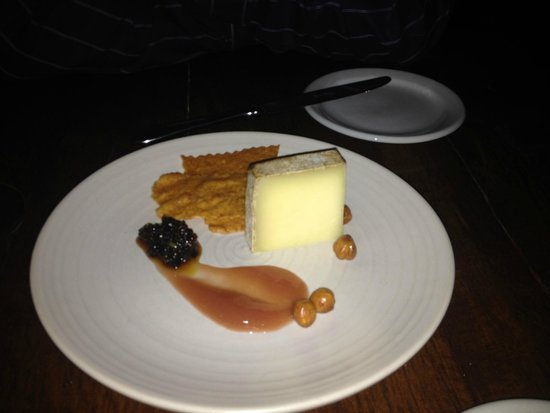 Hen of The Wood: Serving of cheese