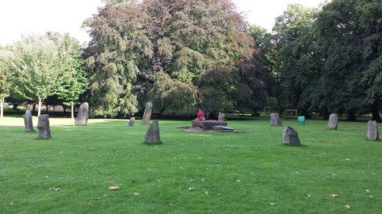 Bute Park: Stone Circle