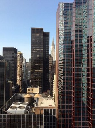 Courtyard New York Manhattan/Midtown East : la vue de notre chambre. Nice window view