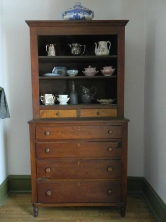 Grinter Place State Historic Site: Ask about the drawer damage