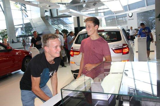 BMW Welt: wird er 100% schaffen?