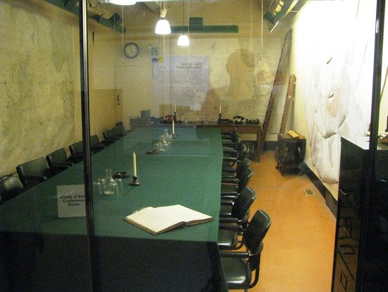 Churchill War Rooms: Map room