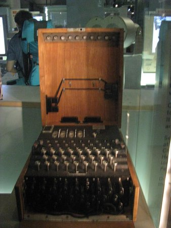 Churchill War Rooms: Enigma Code Machine