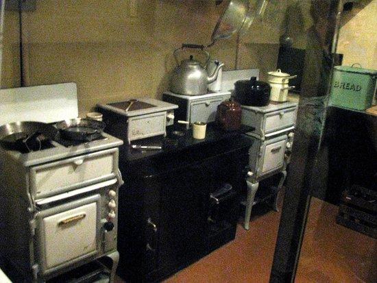 Churchill War Rooms: Churchill's kitchen