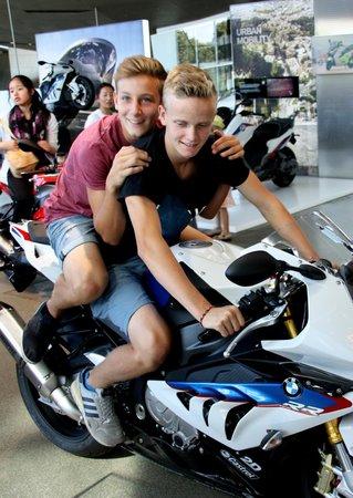 BMW Welt: so ein Motorrad wäre toll!